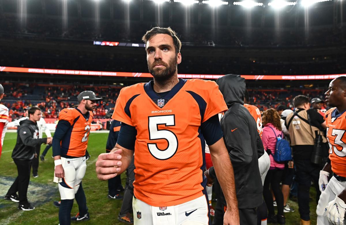 Reports Broncos To Release Qb Joe Flacco Sports