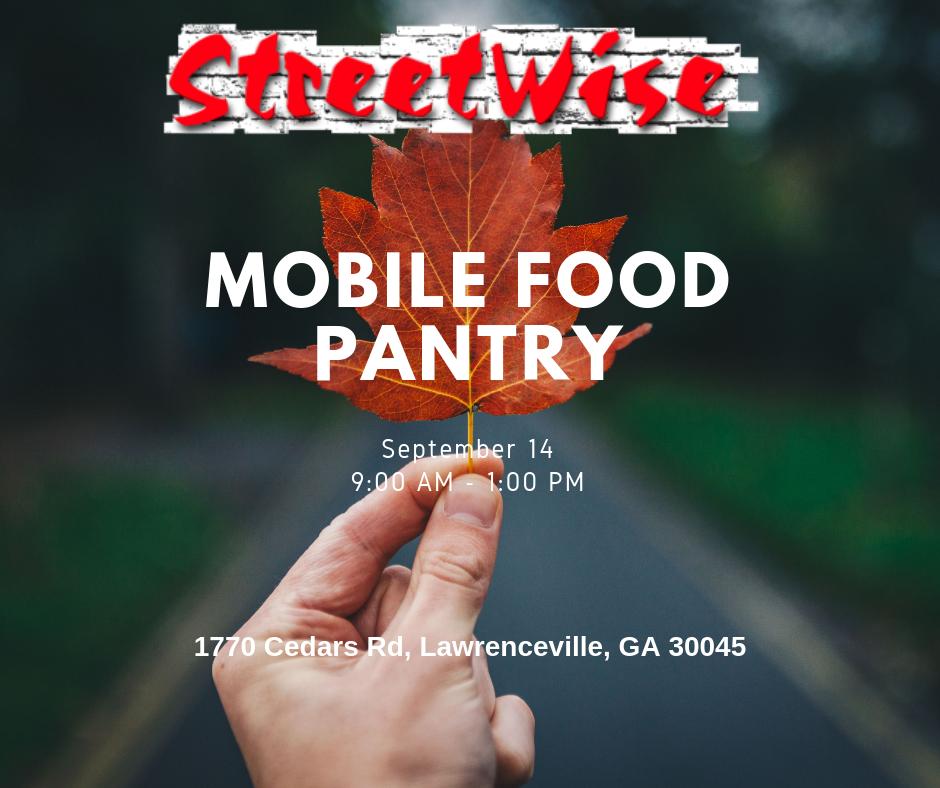 September Mobile Food Pantry