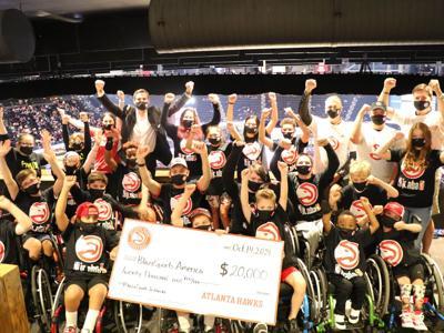 Atlanta Hawks provide additional support to BlazeSports America