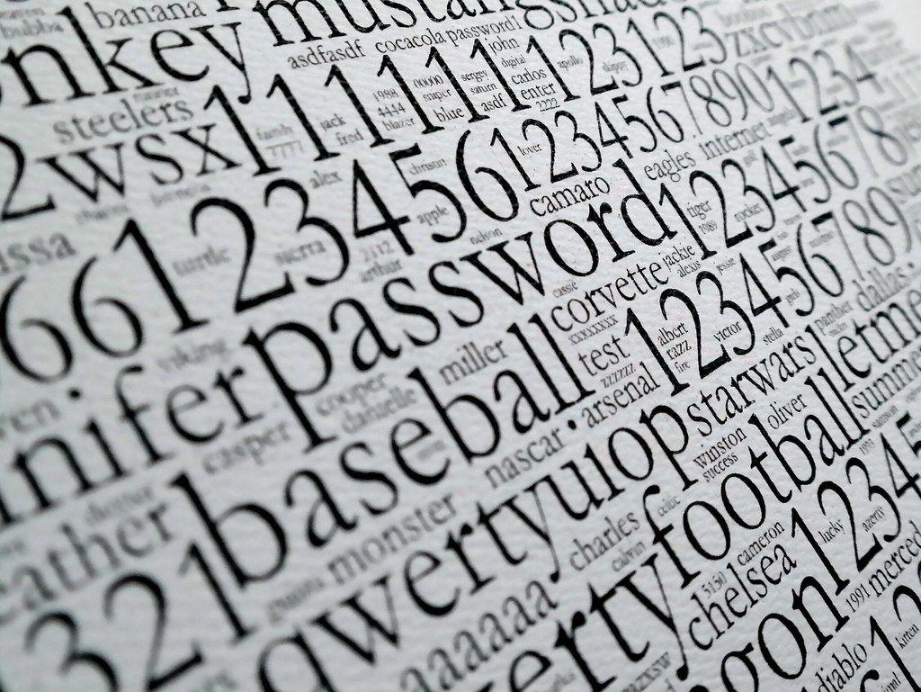 Vary passwords.