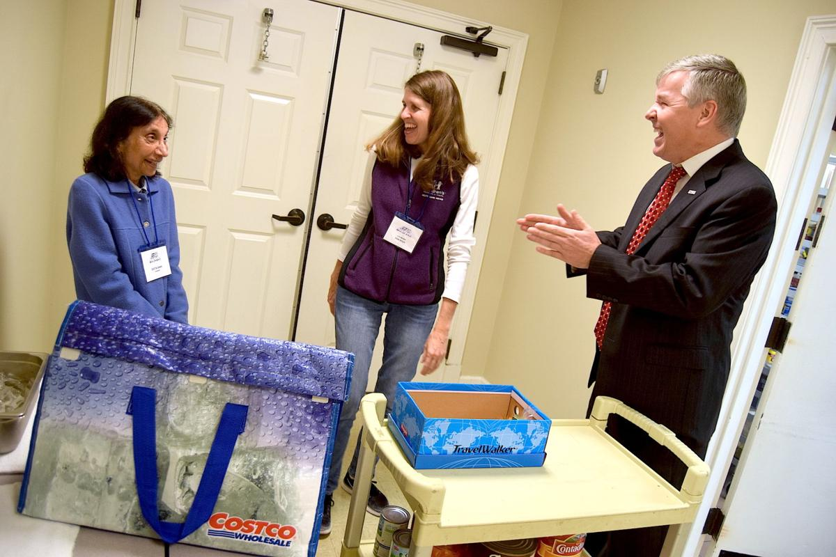 U.S. Rep. Rob Woodall joins Norcross Meals on Wheels to deliver food to seniors