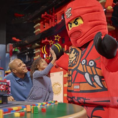 LEGOLAND Discovery Center opens new exhibit Saturday