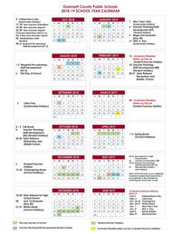 Calendario 2020 Vip.Gcps Releases Calendars Through 2020 To Include A Fall