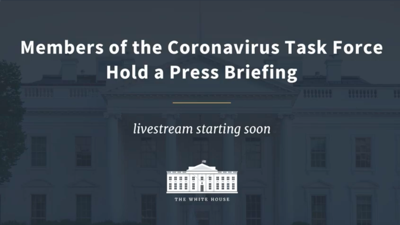 LIVE: Watch the Friday White House coronavirus task force press conference