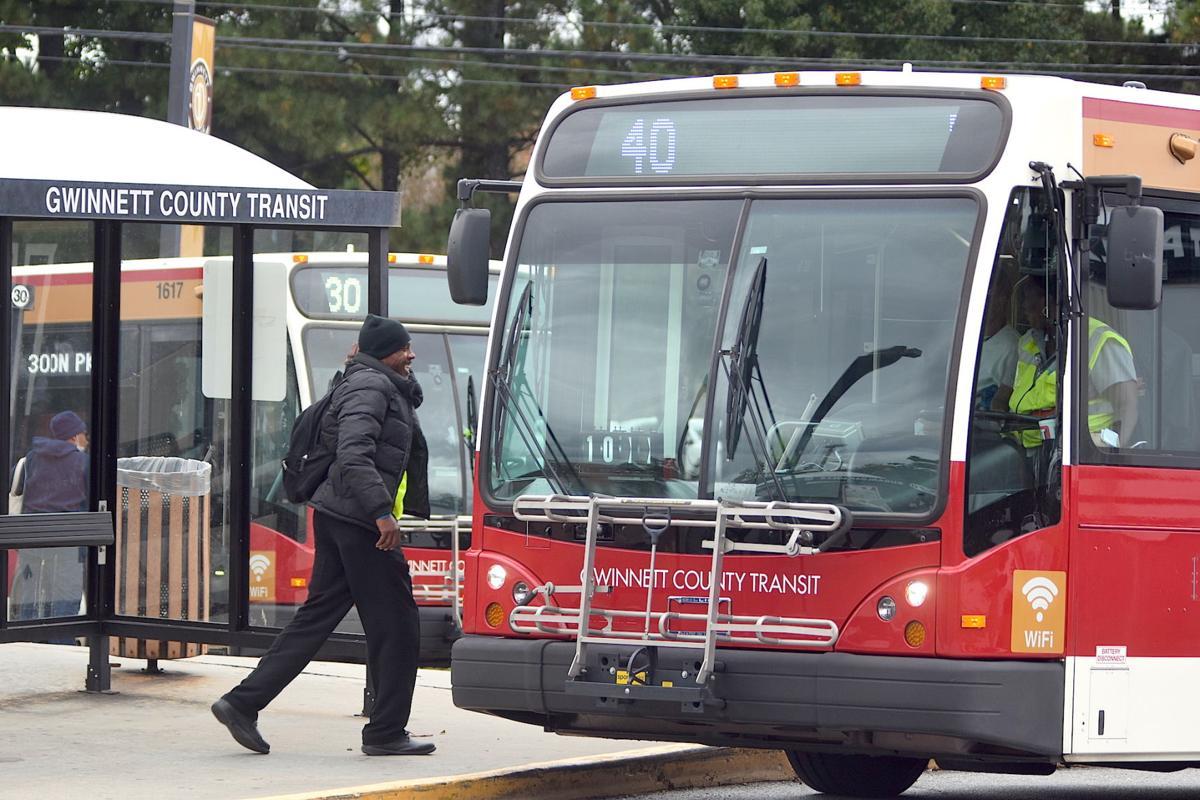 Gwinnetti County Transit bus file photo