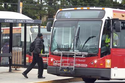 Gwinnetti County Transit bus file photo