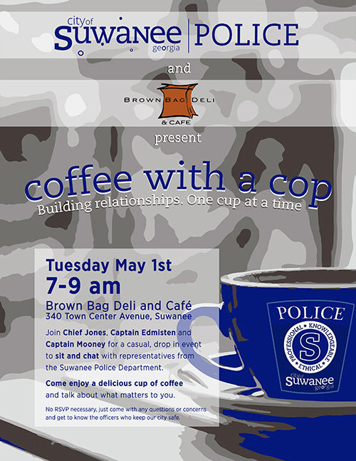 suwanee to host coffee with a cop event may 1 news