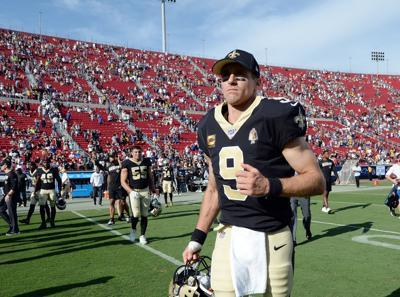 Saints Qb Drew Brees Leaves With Thumb Injury Sports