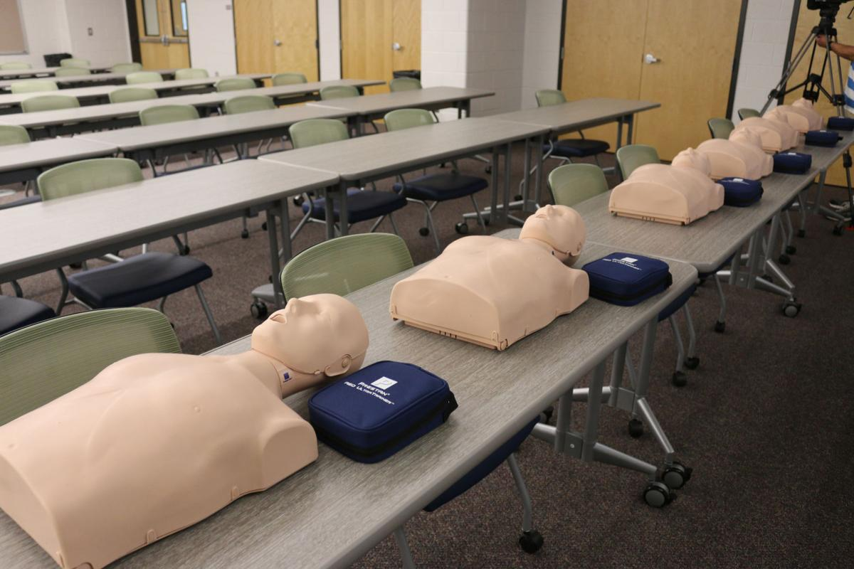 McClure Health Sciences High School provides students with