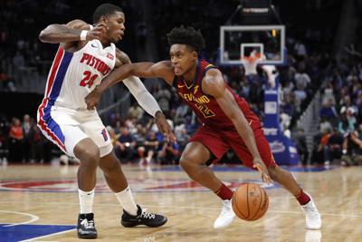 NBA: Preseason-Cleveland Cavaliers at Detroit Pistons