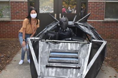 PHOTOS: Central Gwinnett delivers Black Panther-themed Magic Wheelchair to middle schooler