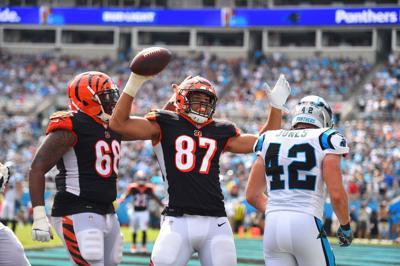 North grad C.J. Uzomah stays connected to Suwanee during fourth NFL season