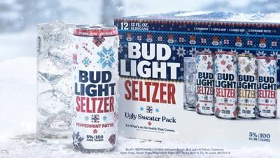 Bud Light gets festive with new holiday hard seltzer flavors