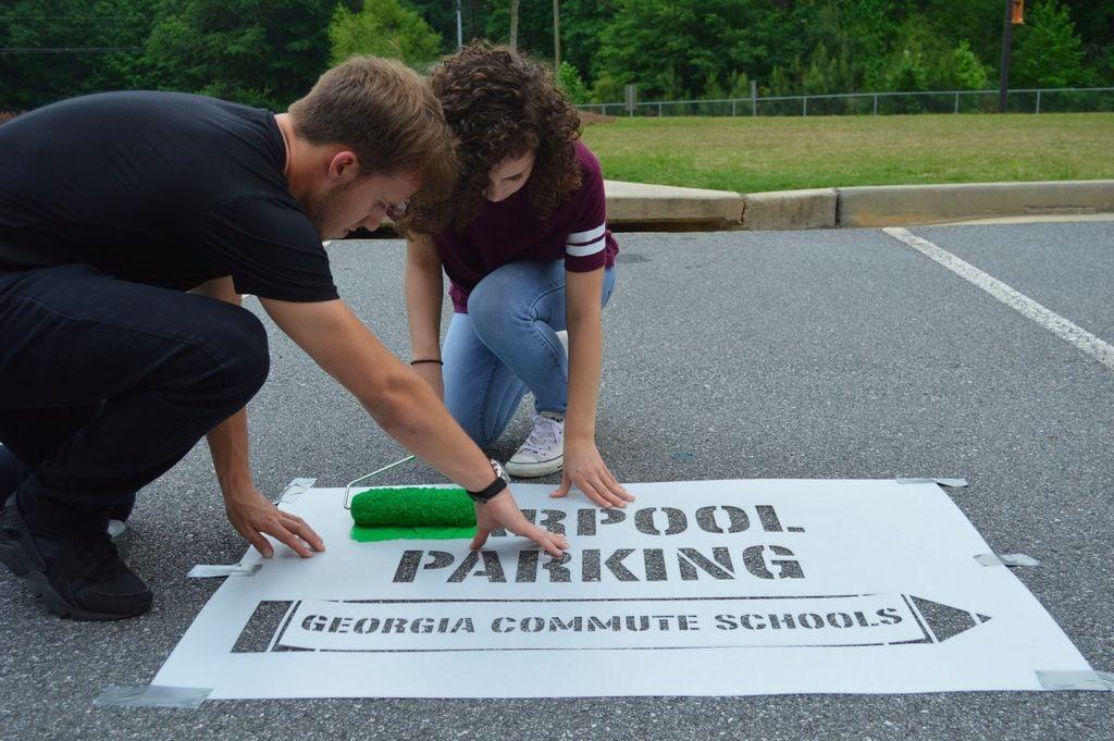Car pool parking