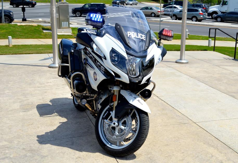lawrenceville police department debuts new bmw motorcycles