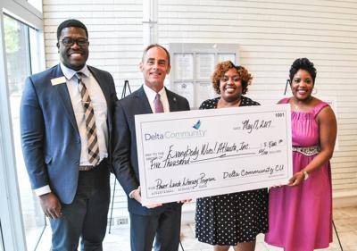 Charity that serves Gwinnett receives $5,000 from Delta Community Credit Union