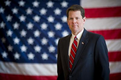 What will be on Brian Kemp's agenda for health care?