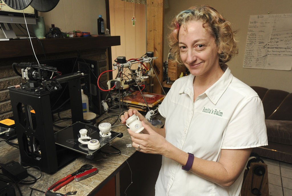 Lawrenceville businesswoman expanding from balm into 3-D printed packaging