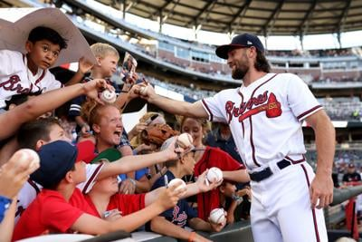 MLB: Kansas City Royals at Atlanta Braves