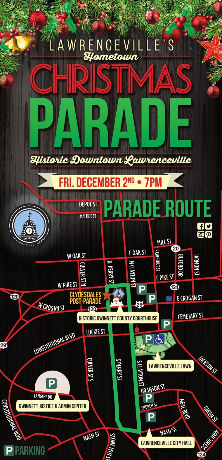 Lawrenceville Christmas Parade 2021 Lawrenceville Christmas Parade Route Gwinnettdailypost Com