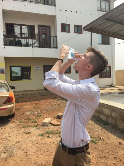 Max DeCook finds salvation in building overseas water plant