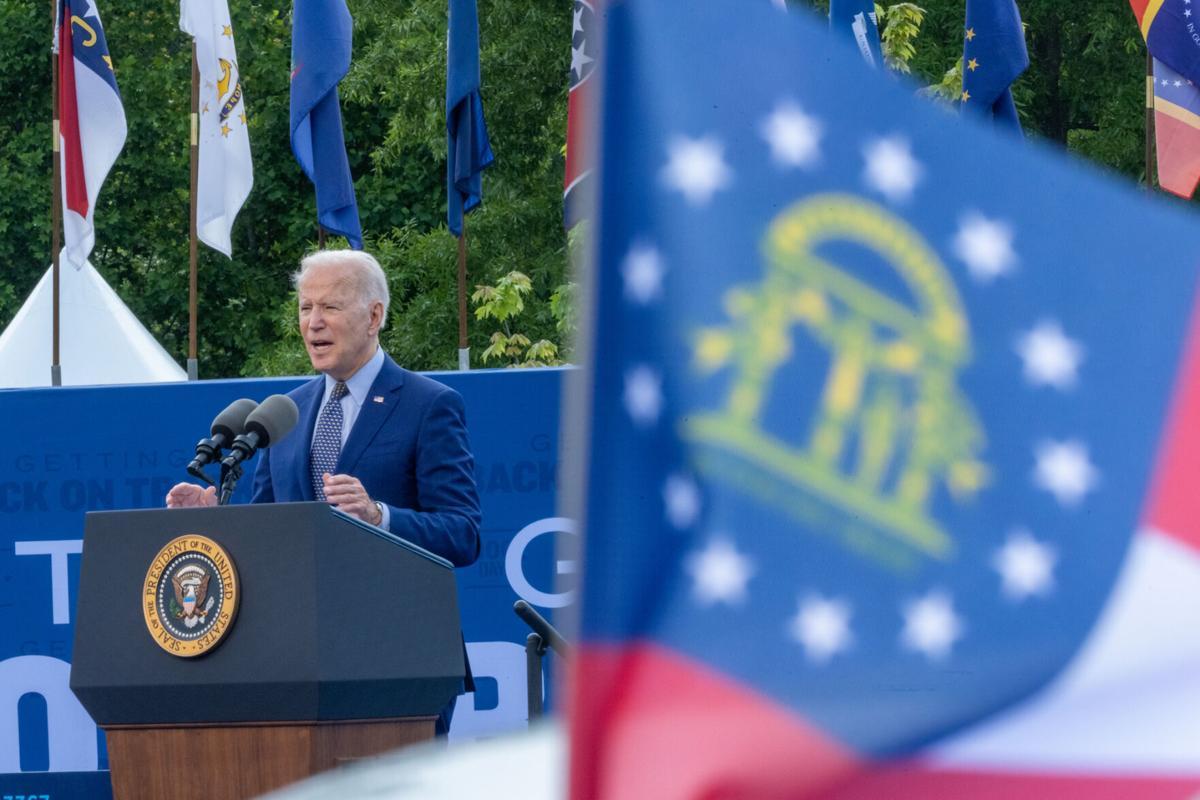 Biden 100 Days Rally