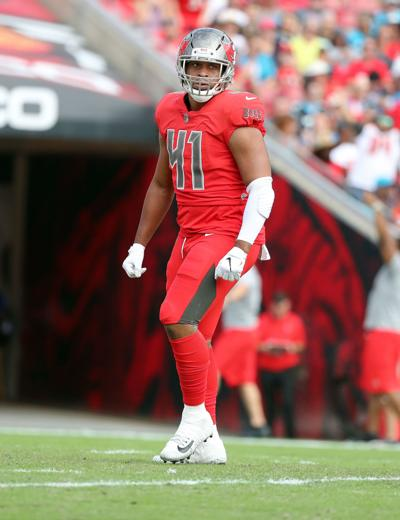 Peachtree Ridge grad, Buccaneer Kevin Minter makes health a priority with brand new contract
