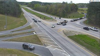 Police: 316 westbound lanes in Lawrenceville closed due to vehicle fire