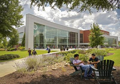 GGC campus with people file photo (copy)