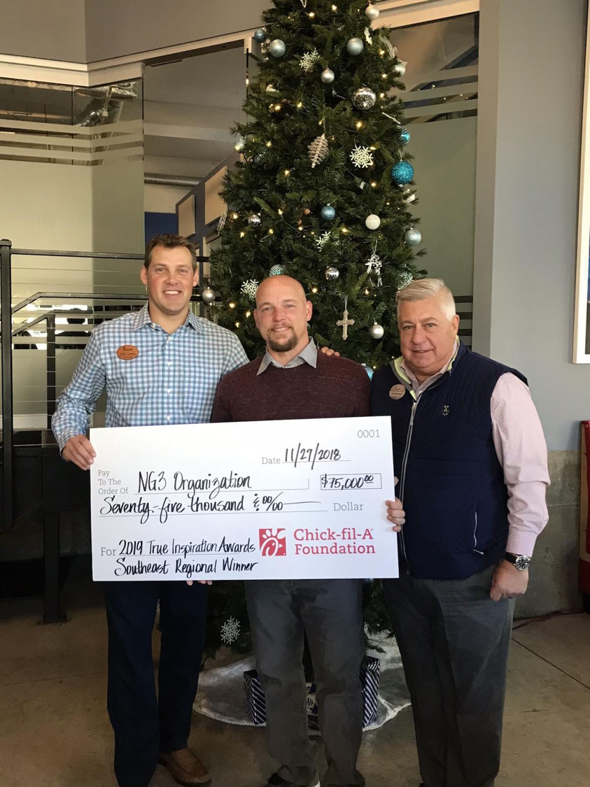 Lawrenceville nonprofit, NG3, receives $75K grant from Chick-fil-A Foundation