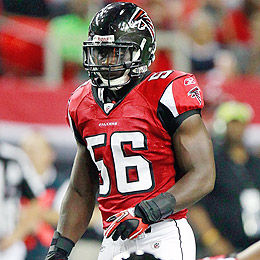 ab506b7938b6 Atlanta Falcons linebacker Sean Weatherspoon out for season with torn  Achilles