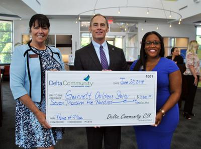 Delta Community Credit Union awards $15,000 to two Gwinnett non-profits