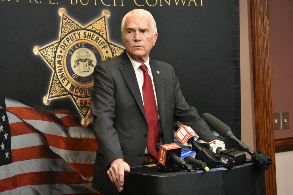 Gwinnett Sheriff Butch Conway will not seek re-election