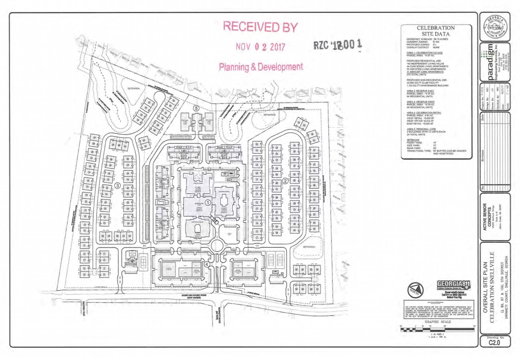 Large retirement community proposed for Webb Gin House