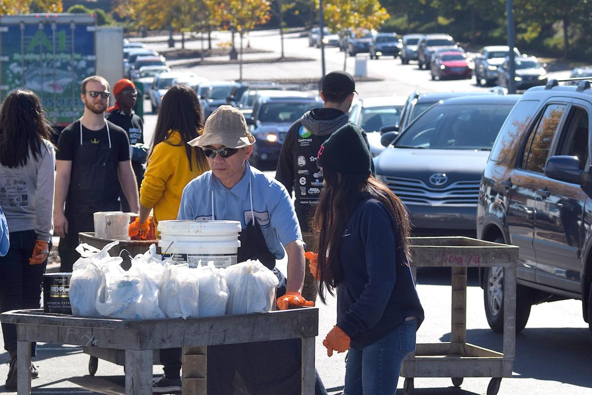 Gwinnett residents find way to recycle hard to dispose products at America Recycles Day event