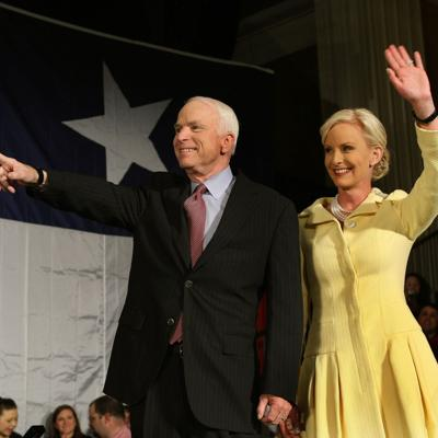 Cindy McCain posts stranger's hateful message about John McCain, their daughter