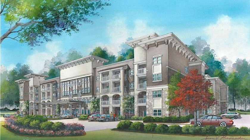Senior Housing Approved For Land Next To Coolray Field