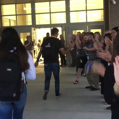 WATCH: McClure Health Science High School's First Day Of School 2019-20
