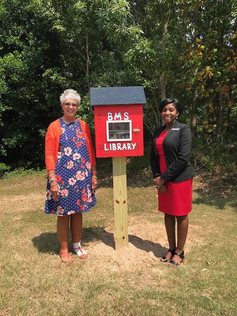 Berkmar Middle School's Little Free Library