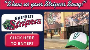 Submit your Stripers Swag Selfie for a chance to win!!!