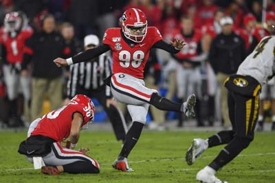 Former Georgia Kicker Rodrigo Blankenship Undrafted To Sign With Indianapolis Colts Sports Gwinnettdailypost Com