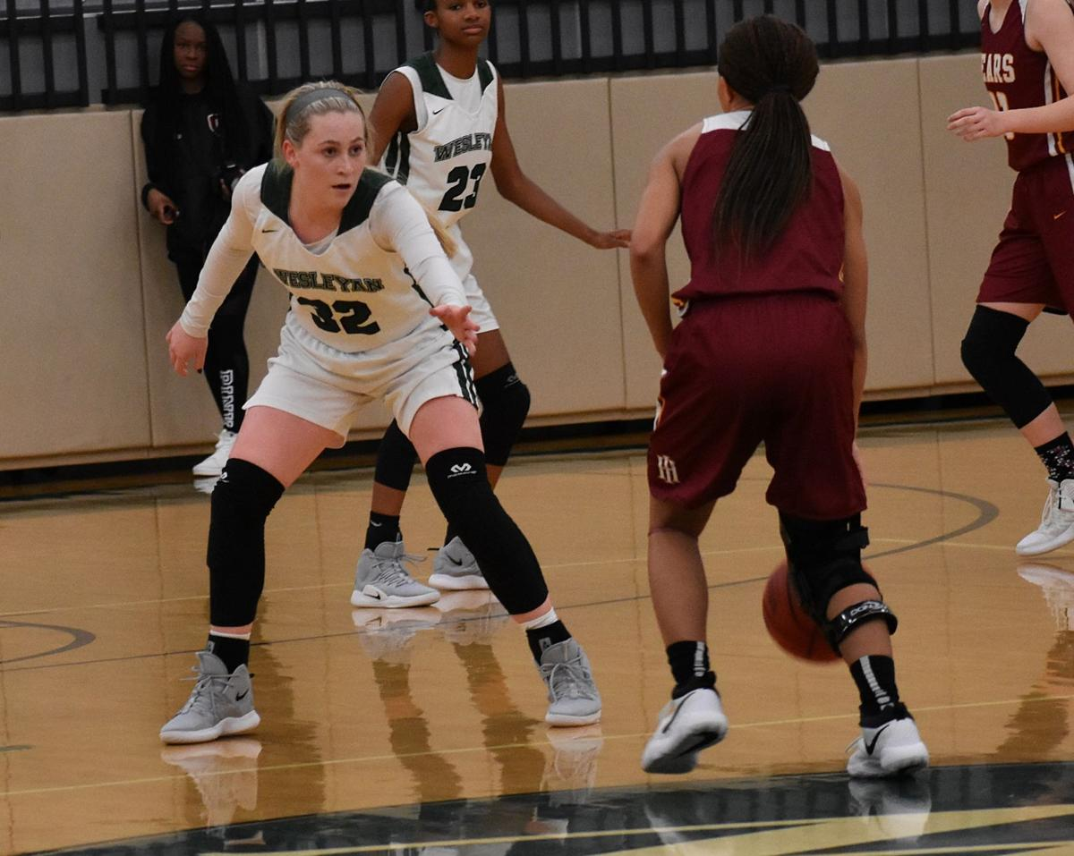 Foul-plagued Wesleyan girls fall to Holy Innocents' in region basketball finals