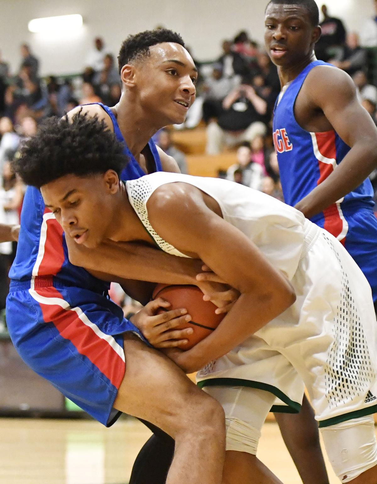 Peachtree ridge boys basketball s late run keys second win for Collins hill