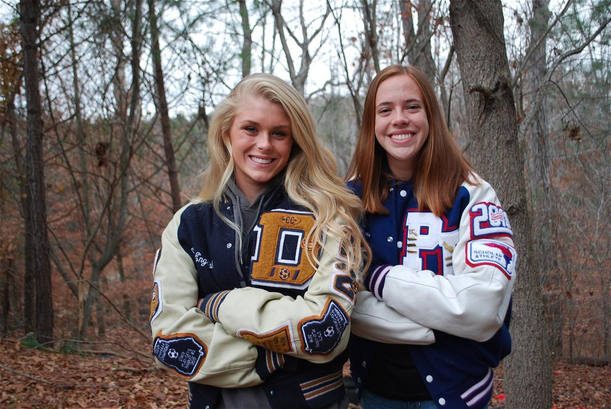 Girls Runners of the Year: Dacula's Skylar English and Peachtree Ridge's Mary Kathryn Knott