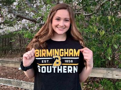 Lanier senior Maya Donaldson to swim for Birmingham-Southern College