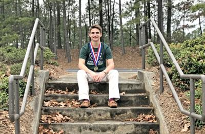BOYS DIVER OF THE YEAR: Collins Hill's Peter Smithson