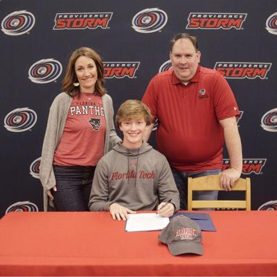 Providence Christian's Hunter Giella signs with Florida Tech football
