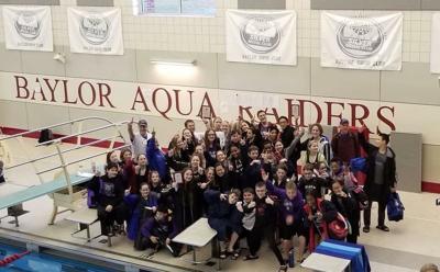 Wildcats Swim Team wins Southeastern Middle School meet in Chattanooga