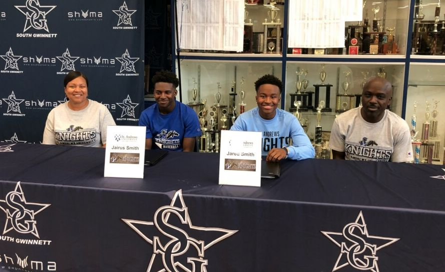 South Gwinnett baseball�s Smith twins sign with Saint Andrews