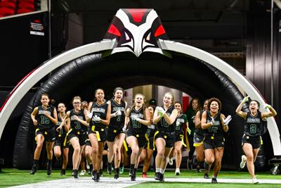 Mercedes Benz Columbus Ga >> Atlanta Falcons feature Gwinnett girls flag football in 'Trailblazers' video | Sports ...